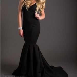 LaFemme formal full length gown